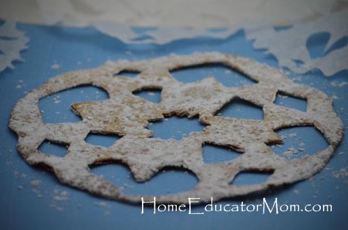 how to make edible snowflakes