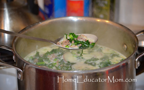 Kale-soup-with-Italian-sausages