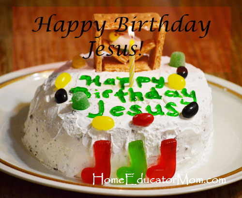 Christmas birthday-cake-for-Jesus